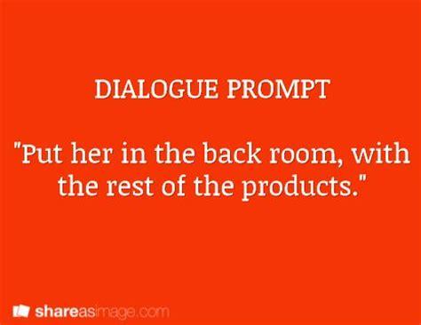 Dialogue in essay form